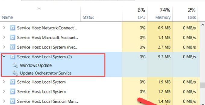 Fix Service Host Local System High Disk Usage Error