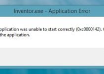 Application Error 0xc0000142